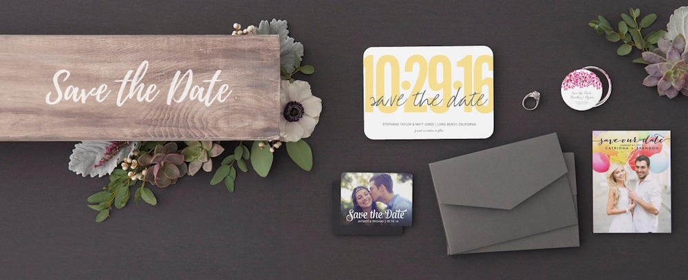 Create the Perfect Save the Date Ensemble that Perfectly Matches you as a Couple at Zazzle