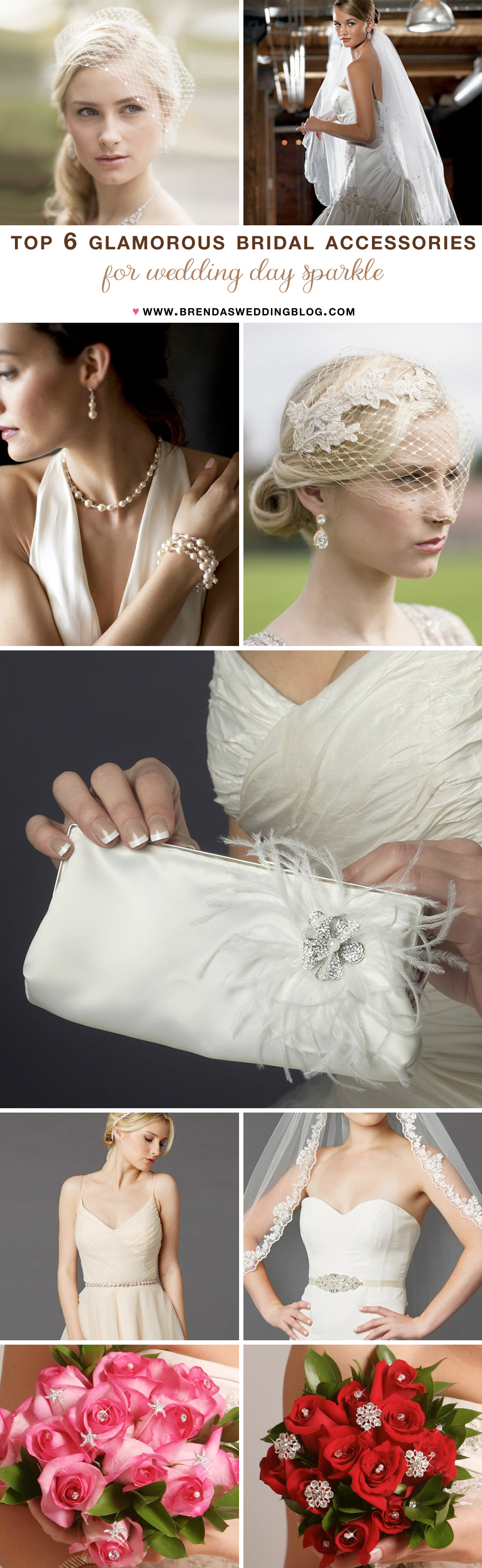 Top 6 Glamorous Bridal Accessories to Sparkle on Your ...