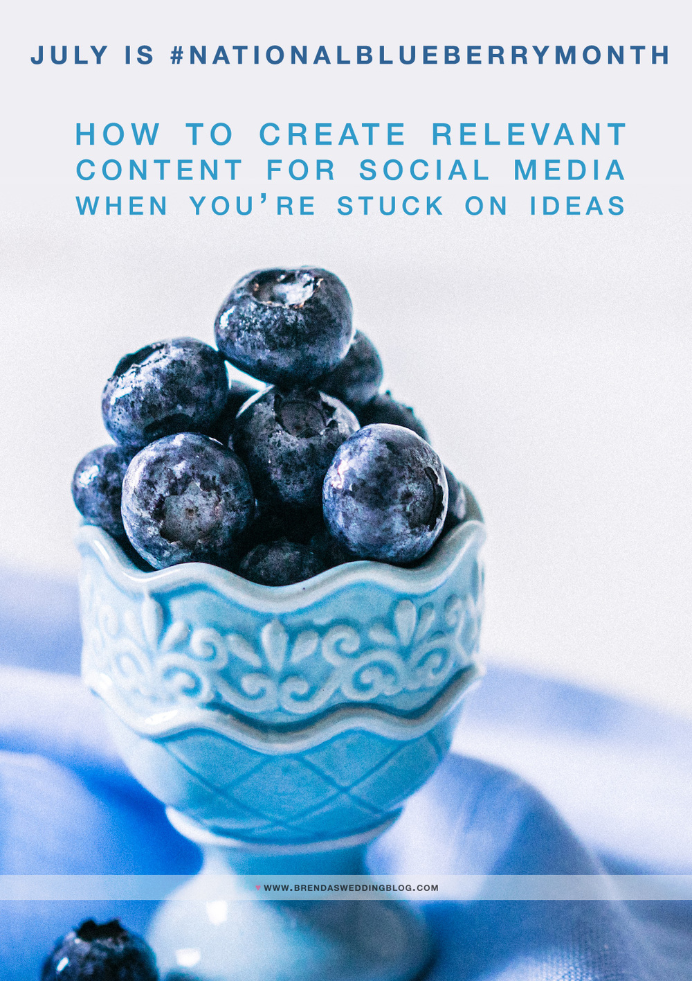 How to Create Relevant Content for Social Media when you're stuck on ideas - July 2016 edition