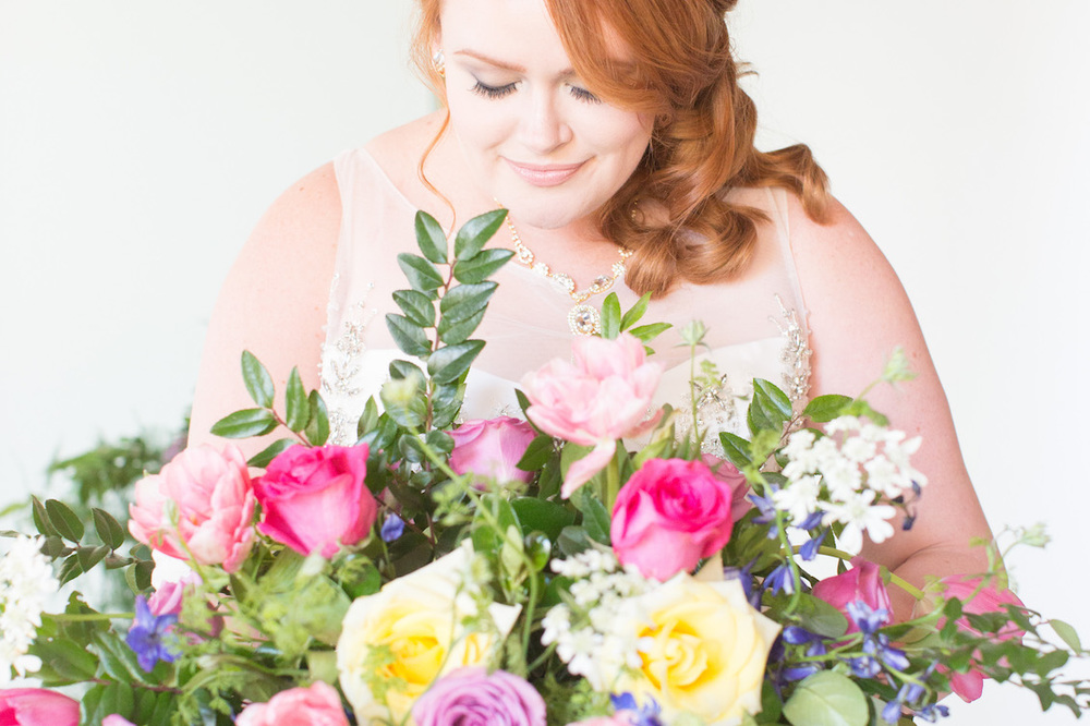 Gorgeous and Lush Wedding Florals in Bright Colors - Inspired by Preston Bailey / Florals by EightTreeStreet / Photography by Amy Nicole
