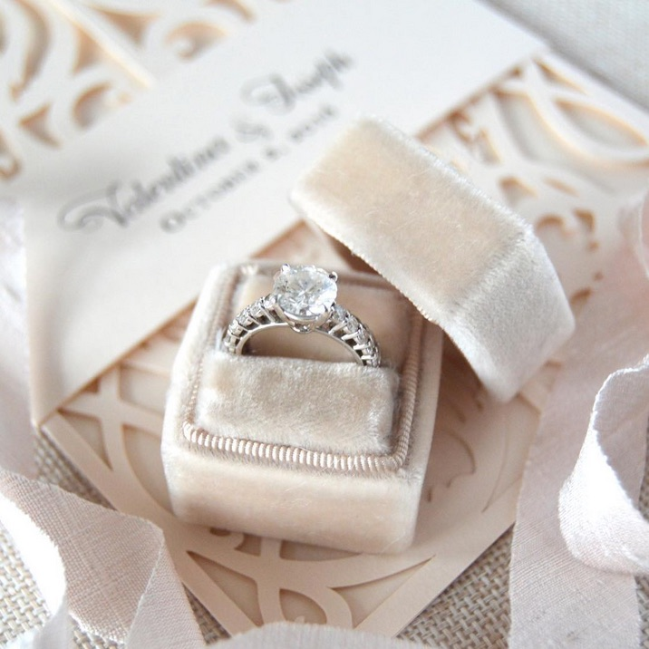Creative Wedding Ring Shots Photo Inspiration