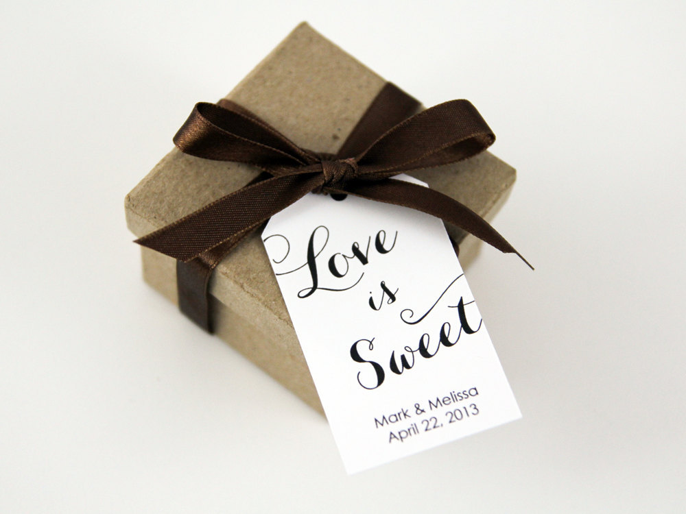 Love is Sweet Favor Tag
