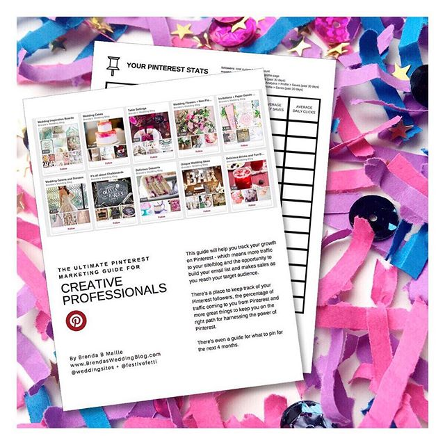 Let's Toss Confetti + Master the Power of Pinterest for your Creative Business. But hurry, there's