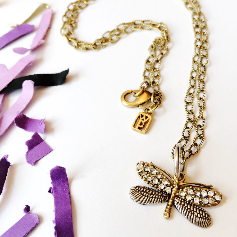 Dragonfly Necklace from Waxing Poetic