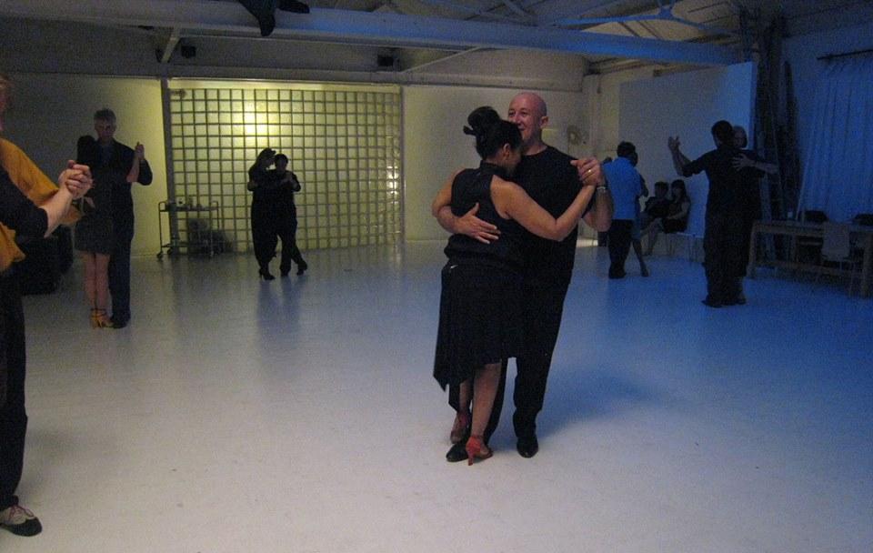 Oscar and Lora,  Milonga La Tanguera, Tango Heat