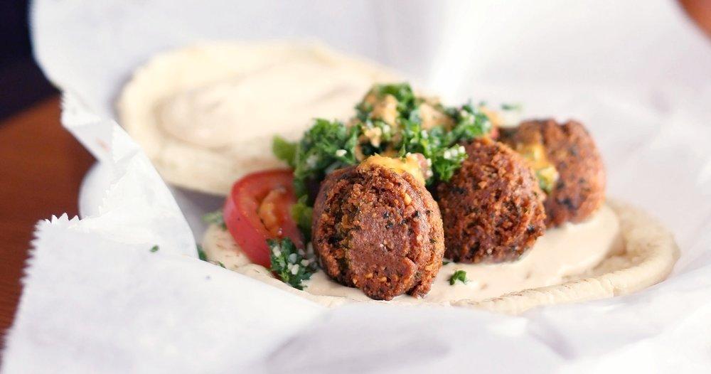 Falafel from Fattoush Cafe