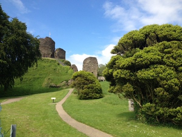 Launceston, Cornwall - an unexpected castle to look around.