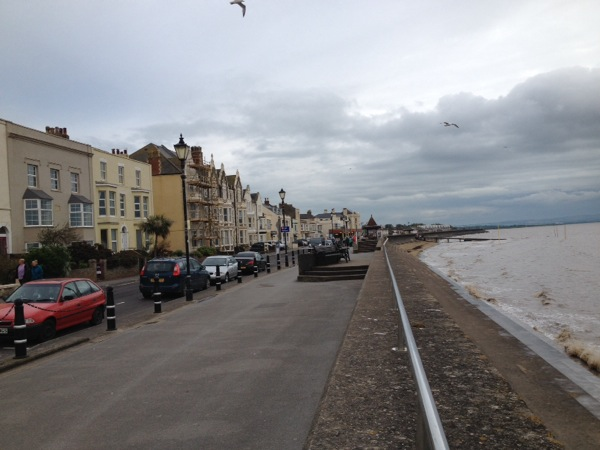 Burnham-On_Sea. It did have a well located pub where I ate another lasagne for dinner.