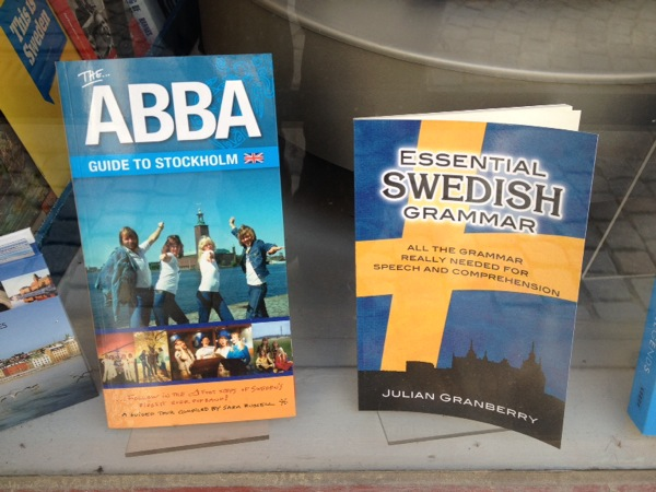 ABBA is sill everywhere. I didn't go to the new ABBA museum- it did get good reviews, if a little kitch.