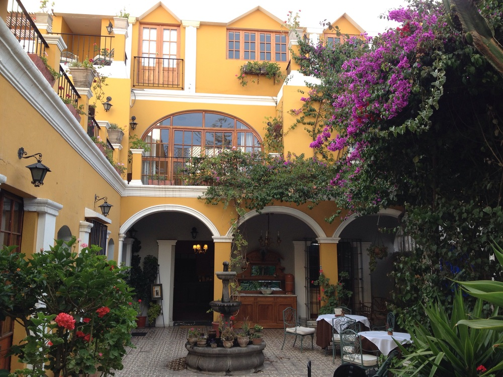 Arequipa - La Hosteria - very nice hotel to stay.