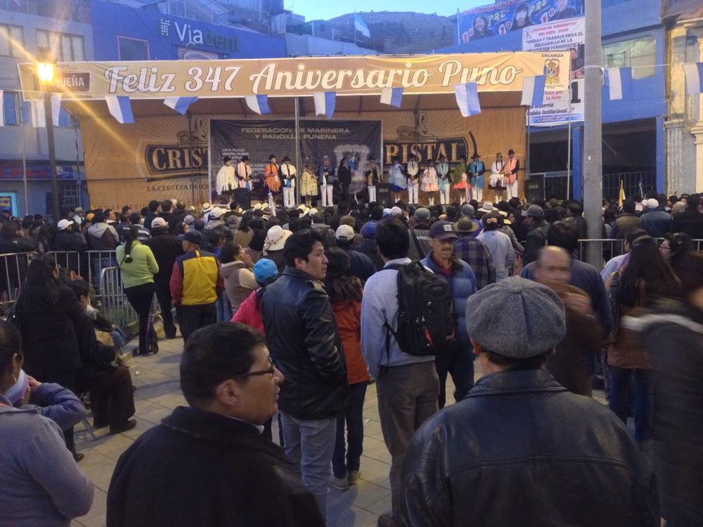 Puno - Festivities for 347 anniversary