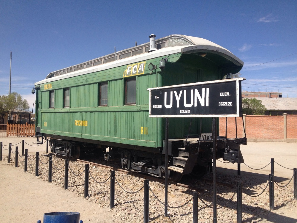 Uyuni- railway played a big part of its early mining growth