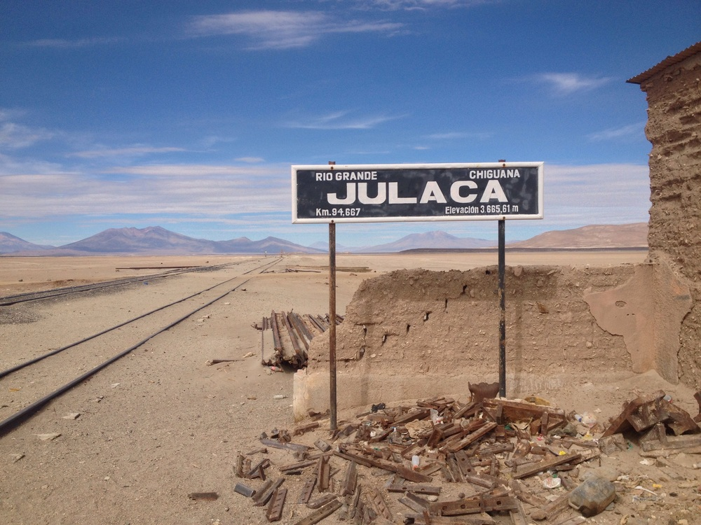 Julaca - an old railway town - altitude 3665m