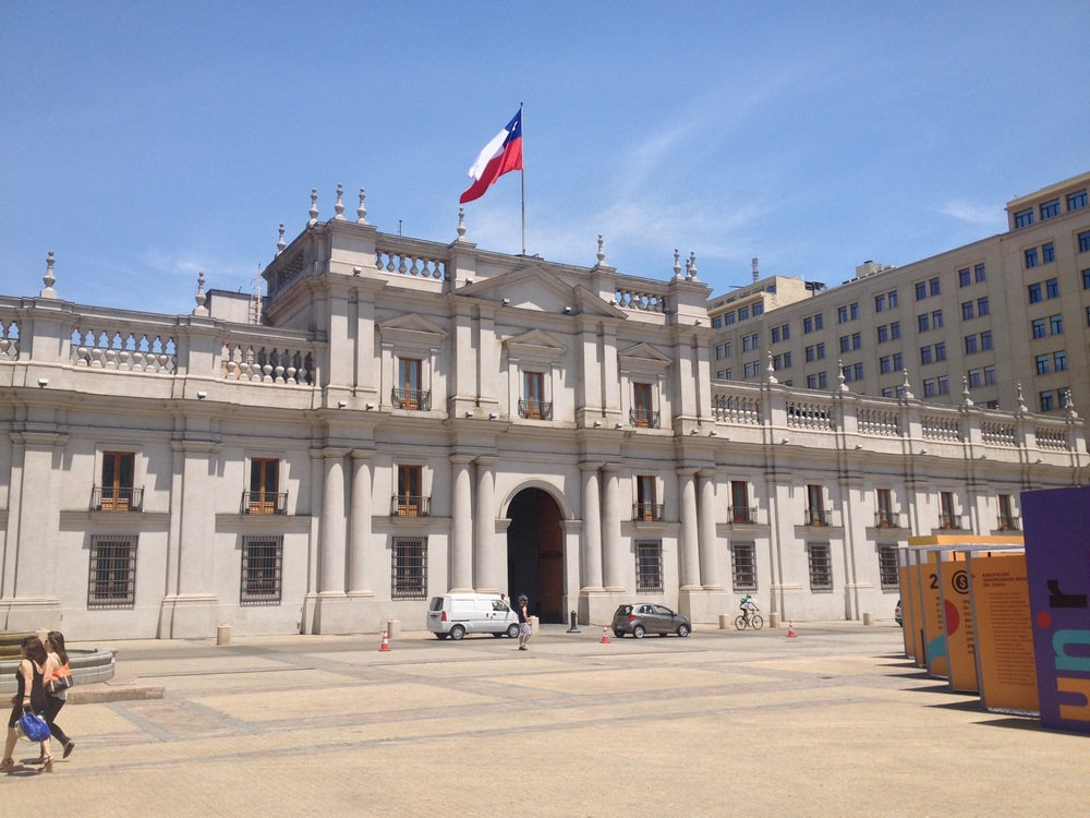 La Moneda at Constition Square