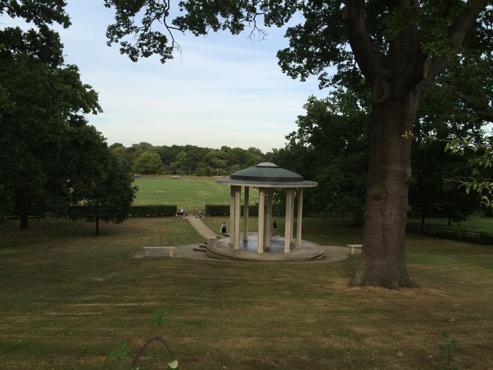 Magna Carter memorial at Runnymede