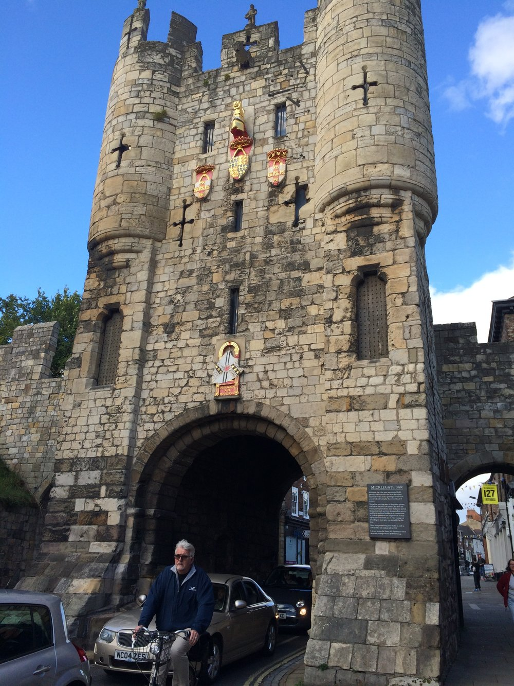 Micklegate Bar Gates