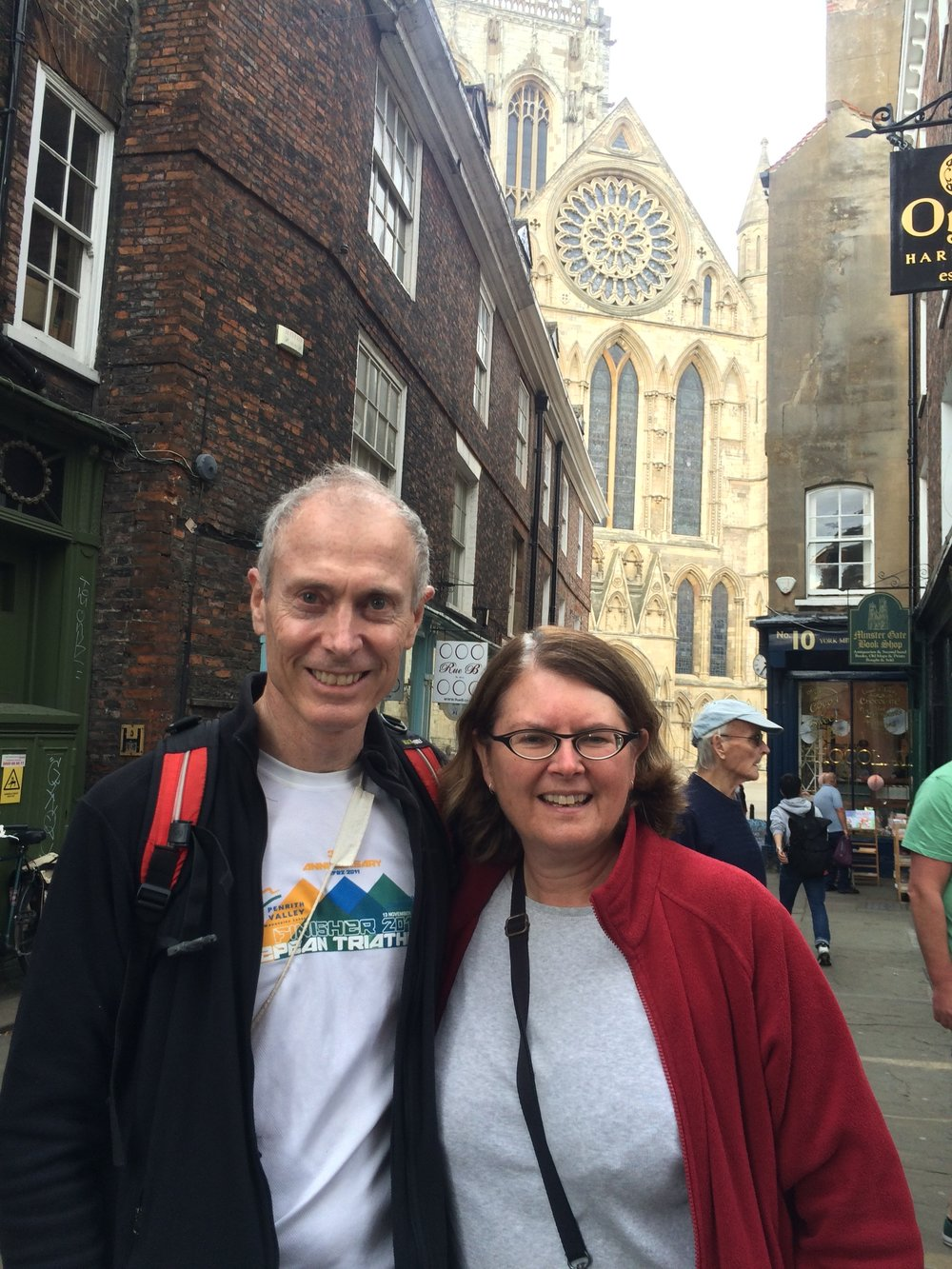Paul and Karen in York