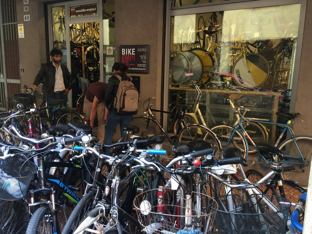 Lots of bicycles = lots of mechanics