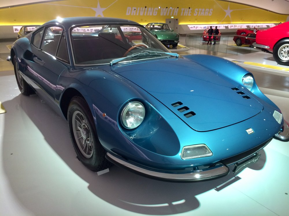 The beautiful 1967 Dino 206- V6