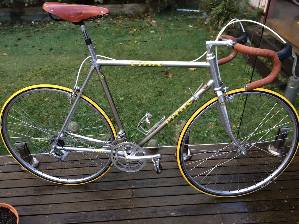 Eroica Vitus 979 #2 - Size 54 and a good fit.