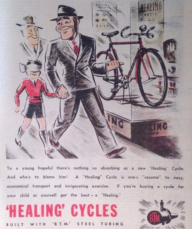Healing Bicycle Advertisement