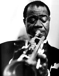 Louis Armstrong on the horn