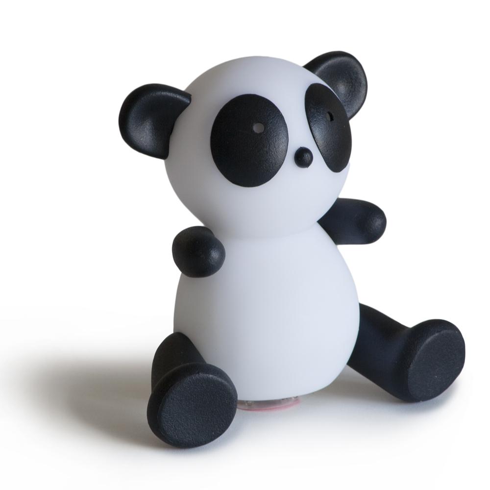 Panda nursery lamp