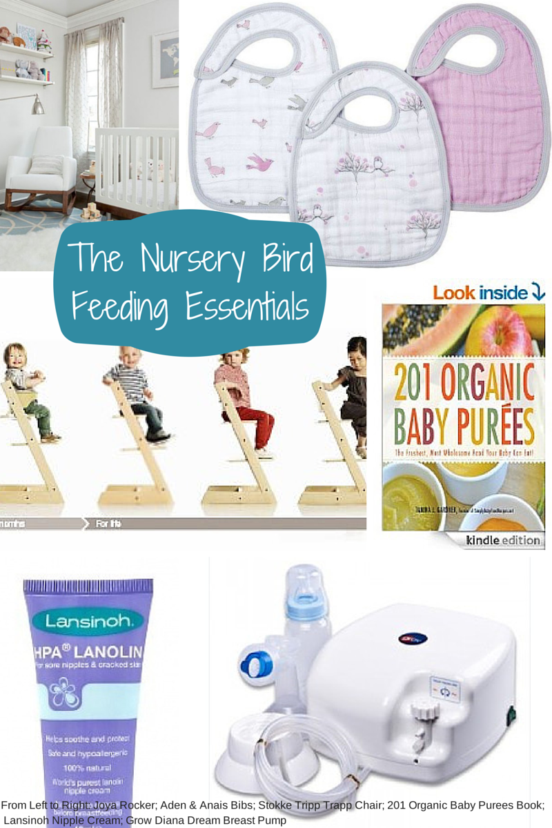 Baby Essentials Checklist Feeding Baby