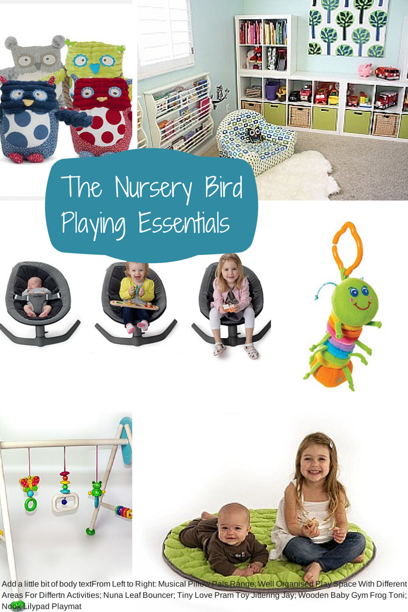 Baby Essentials Checklist - Play spaces
