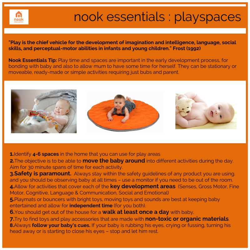 baby play spaces