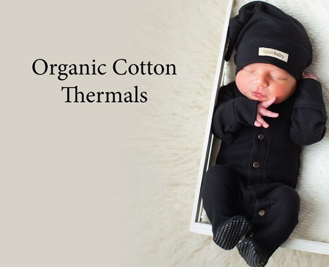 Available in store now. Baby can wear the onesie on its own or over other clothes when going out in colder weather.  Made from GOTS certified organic cotton. Features coconut snaps down the chest for added style and easy dressing. Generous hood for extra warmth, plus front kangaroo pocket and 2 back pockets.