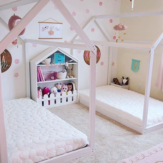 #Repost @ohhappyplay  Super cute fairytale bedroom! King single and single Nook Sleep mattresses now available. ------- #nooksleep #nookmattress