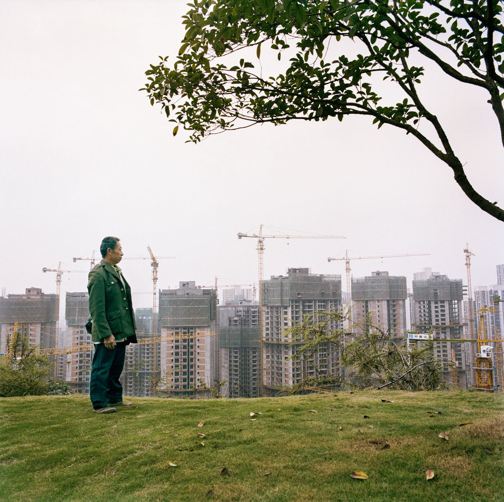Man vs the city | New Development zone of Jiangbei distrcit in Chongqing