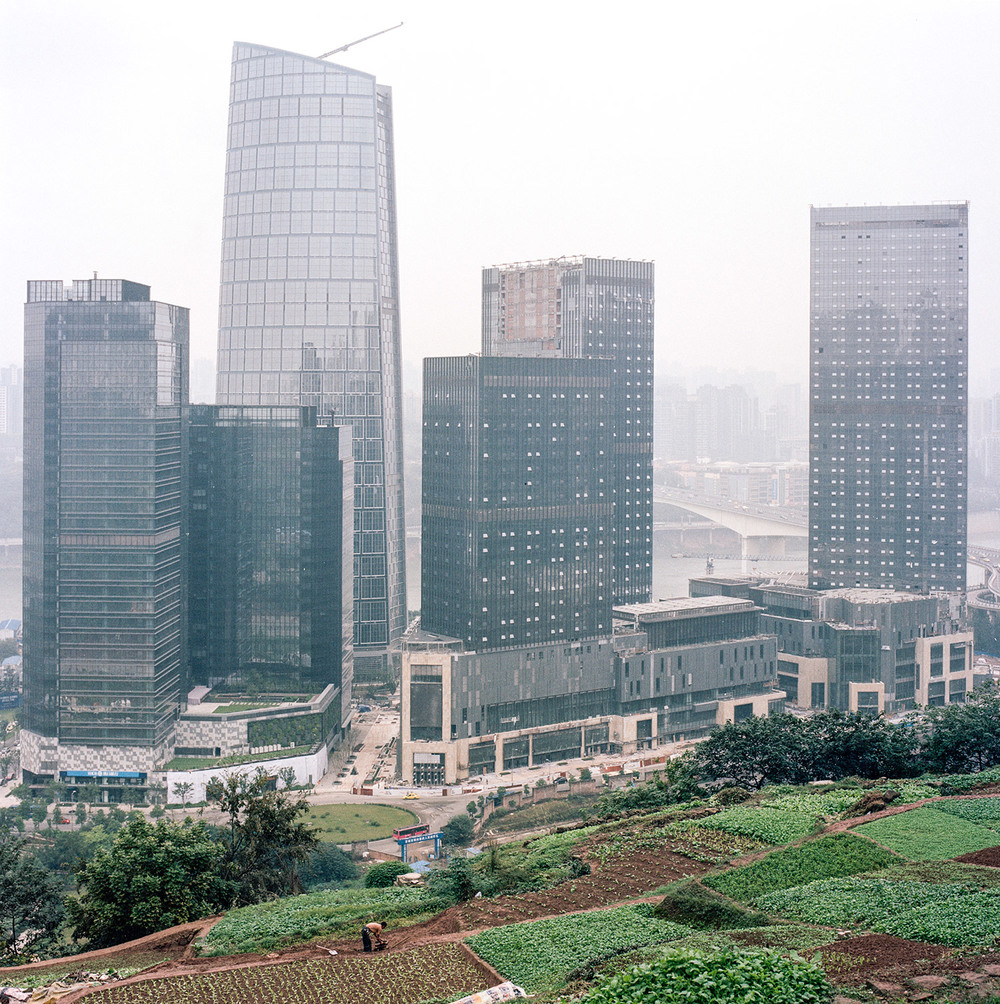 One of the newest addition to the modern Chongqing landscape, the Tiandi business center.