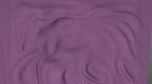 Silk wierframe