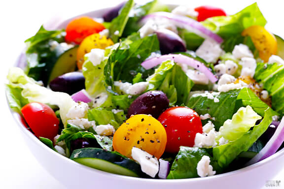 GREEK SALAD                                                                                                                   30