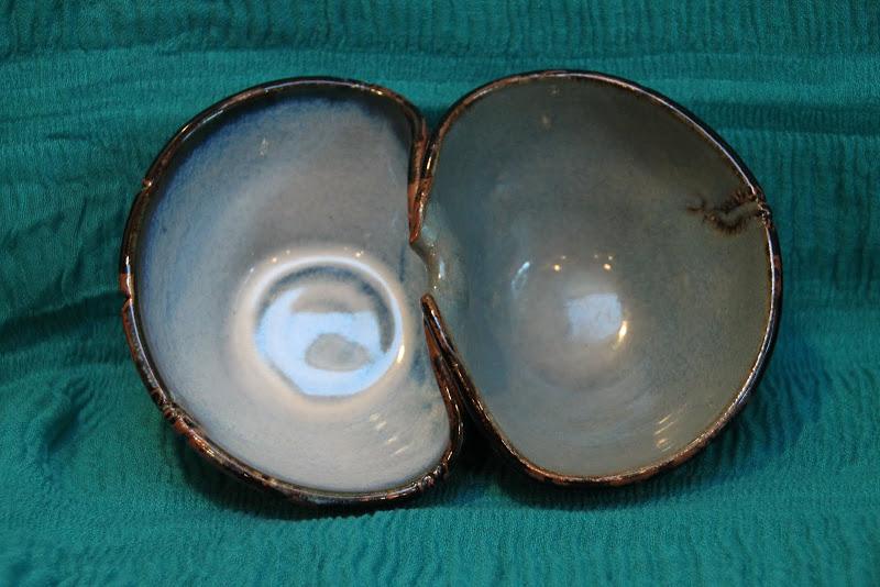 Mehndi Double Bowls