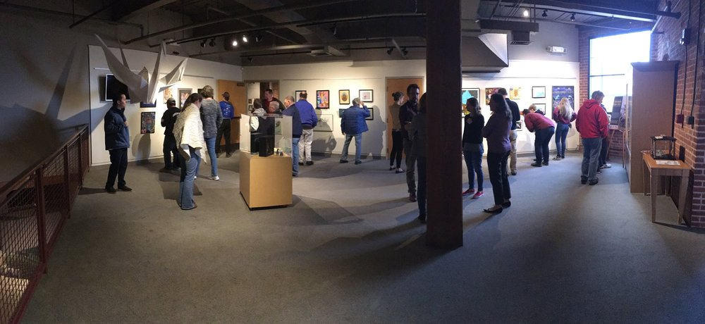 The Exhibit Space at The Museum of Work and Culture, Woonsocket RI