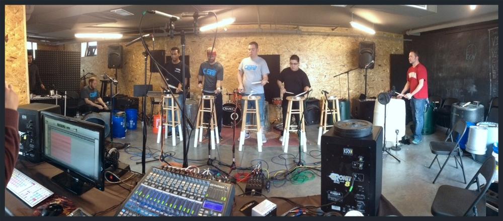 Omaha Street Percussion 1