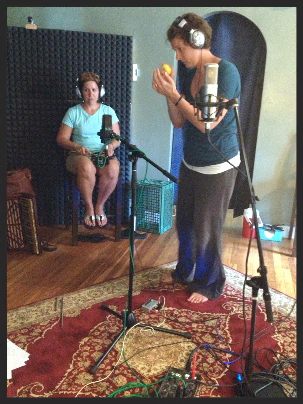 Star Belle recording 3