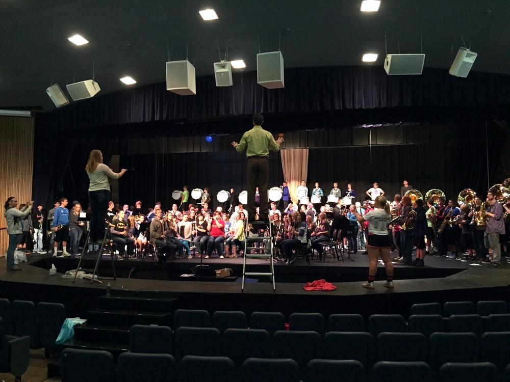 Kearney High School ensembles 2015 1