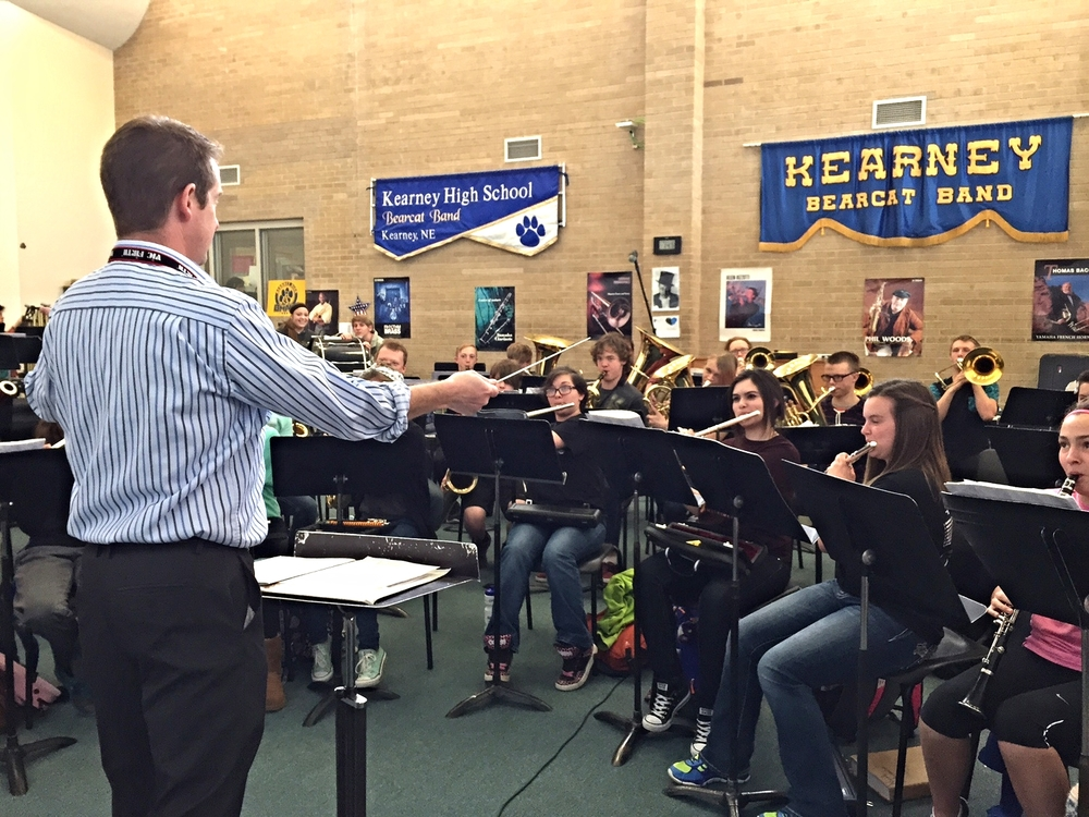 Kearney High School ensembles 2015 2