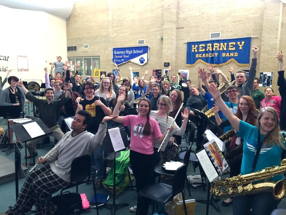 Kearney High School ensembles 2015 4