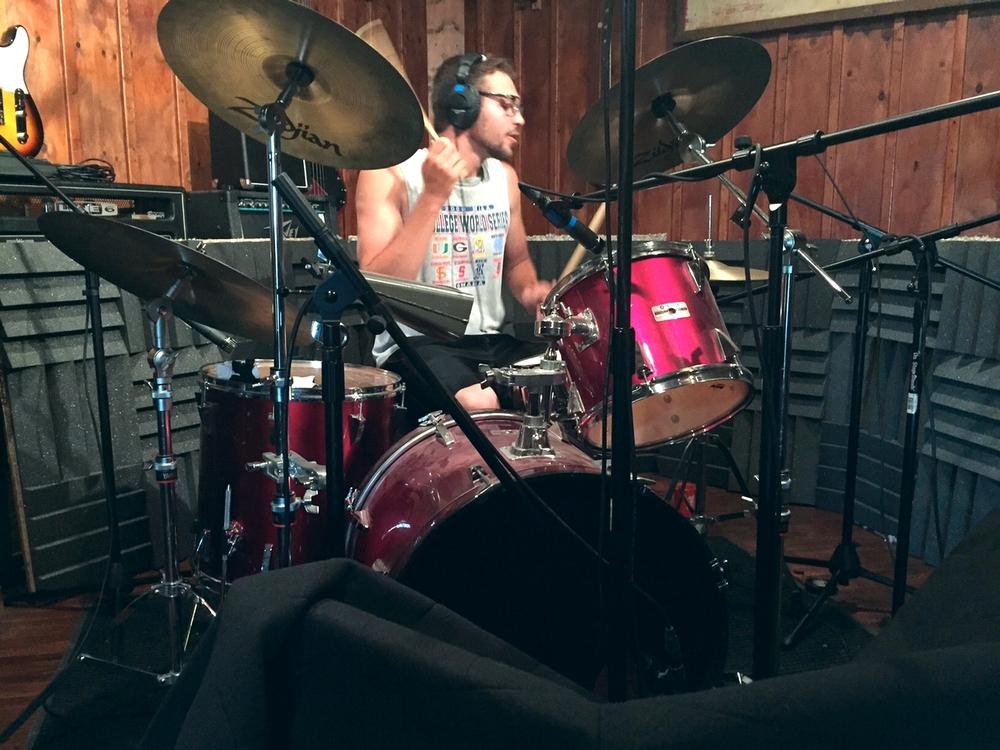 B-Side Down recording 3
