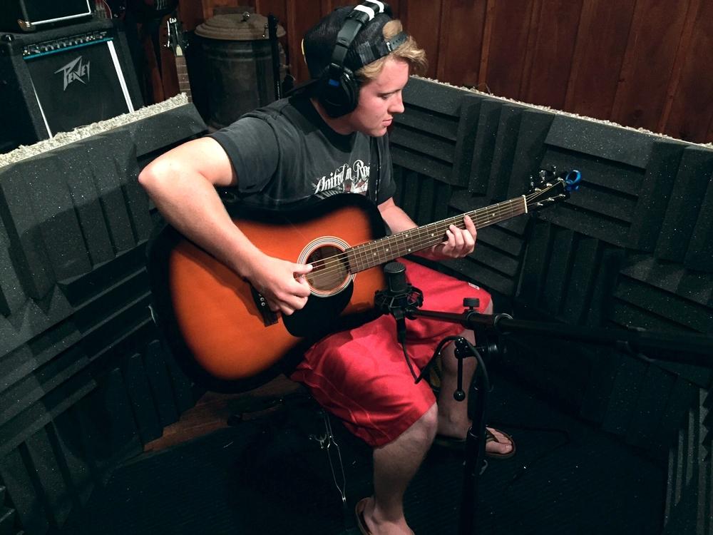 B-Side Down recording 6