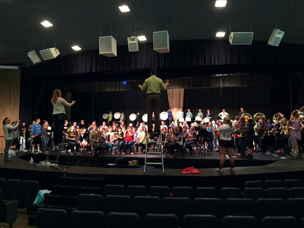 Kearney High School Bands 2015 1