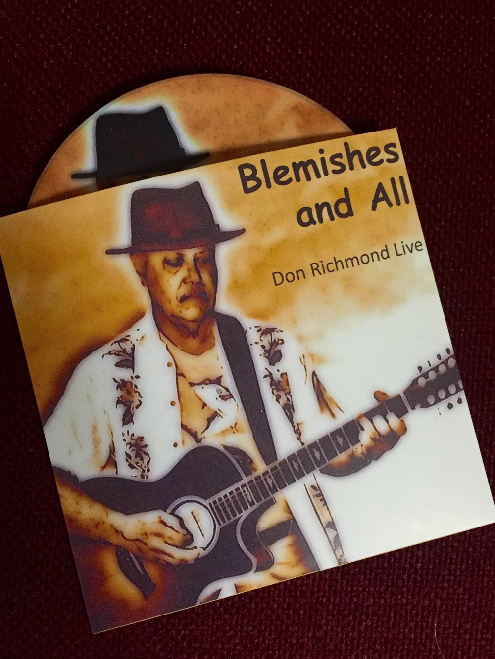 Don Richmond is set to release the live CD 'Blemishes and All' in March 2016.