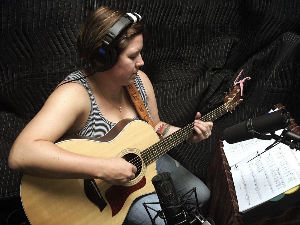 Hope and Emily Dunbar recording 2