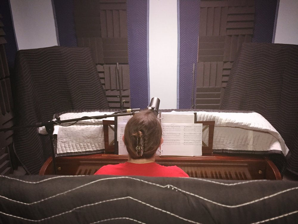Alisha DeBey records with Tone Tree Audio, LLC in summer 2016 at A Noteworthy Studio in Kearney, Nebraska. DeBey tracked eight songs, which Tone Tree Audio mixed and mastered in preparation for CD duplication.