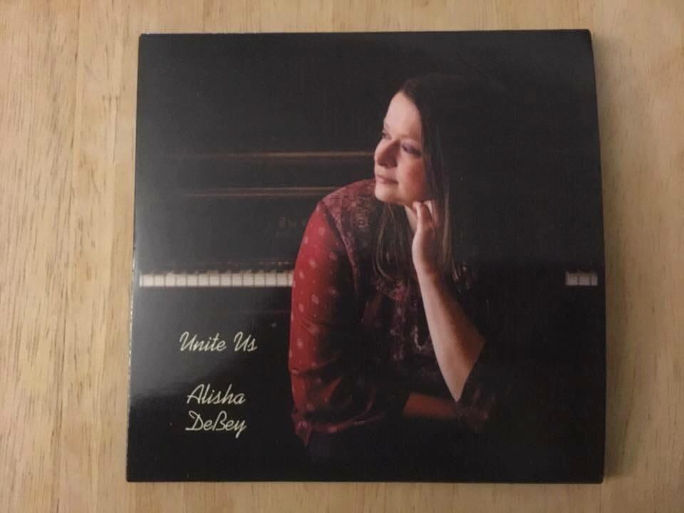 Alisha DeBey's 'Unite Us' CD, recorded, mixed and mastered by Tone Tree Audio, LLC.